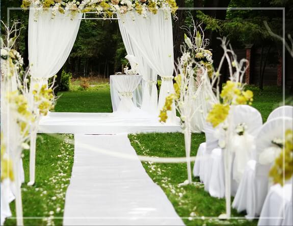 Ceremonia ślubna plener