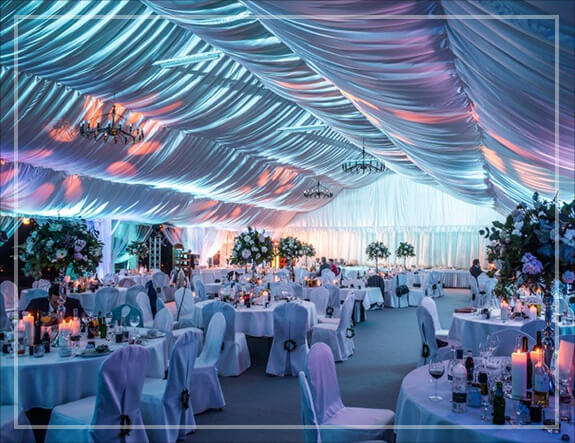 Namiot na ślub