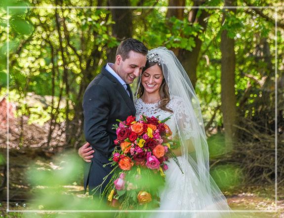 Ślub w plenerze natura