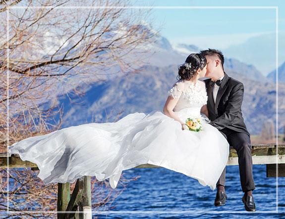 Ślub w plenerze nadmorski
