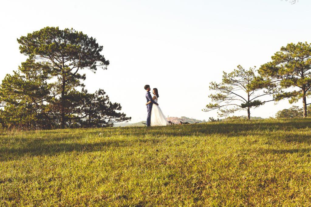 ślub w plenerze przestrzeń