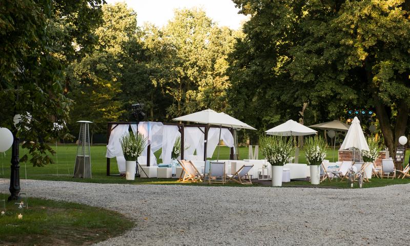 namioty na wesele temperatura