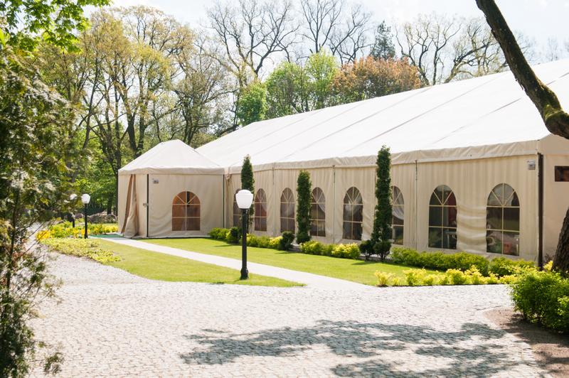 namiot weselny główny filar