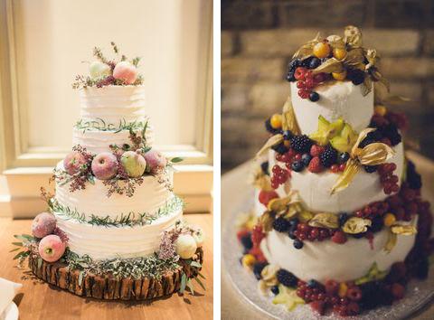 inspirujące torty z owocami