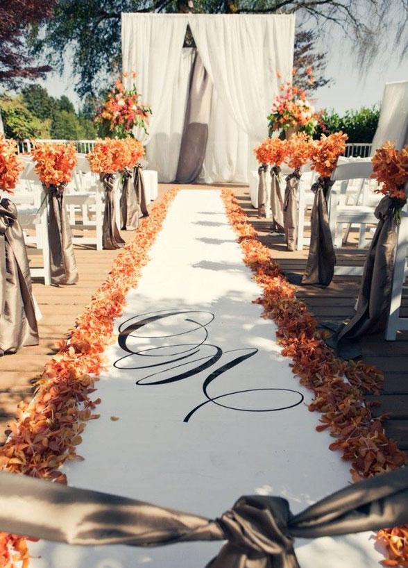 jesienne inspiracje na wesele