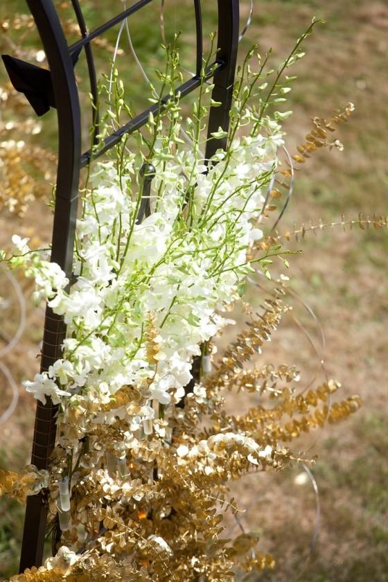 kwiaty weselne zamek kliczków