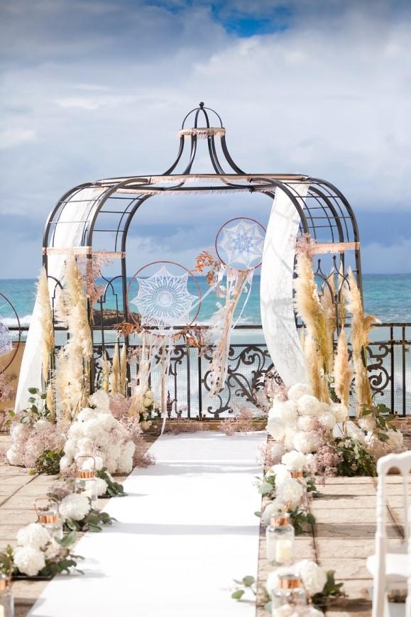 piękna altana weselna
