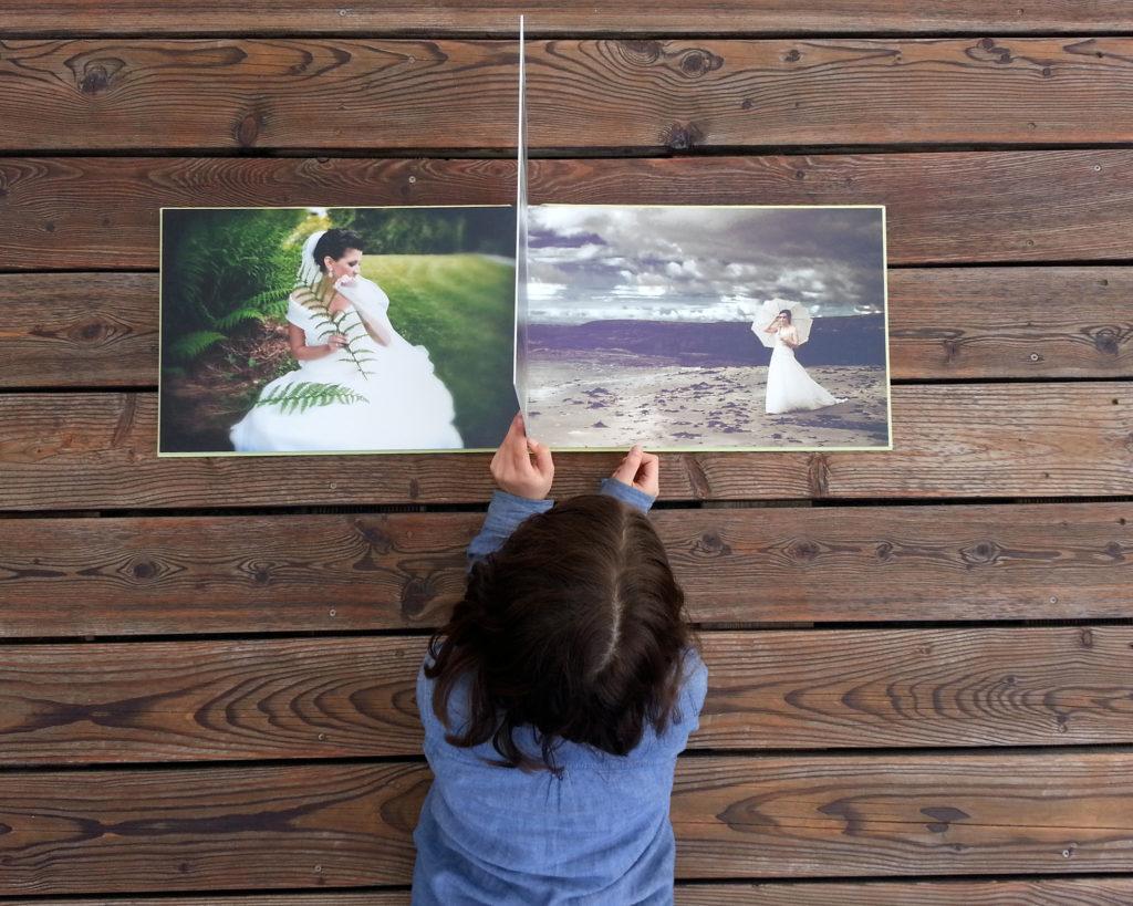 fotoksiążka jako atrakcja weselna