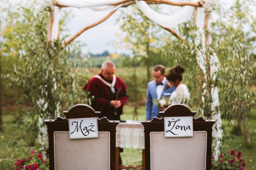 rustykalne zaślubiny