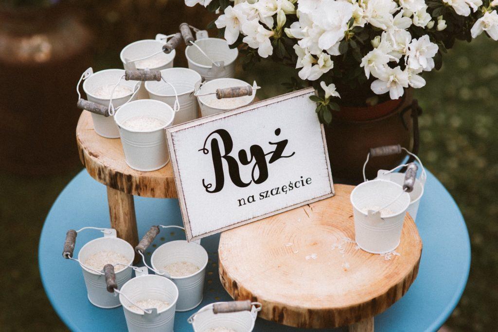 ryż ślub